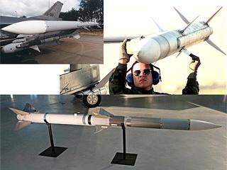 AIM-120B実機外観