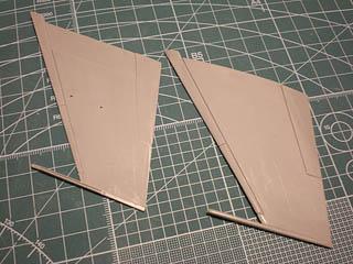 主翼キット形状