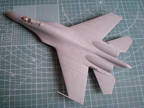 機体表面処理完成