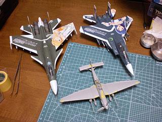 Ju-87/Su-33/F-15E